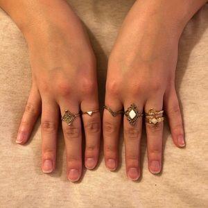 Forever 21 | Etched Ring Set